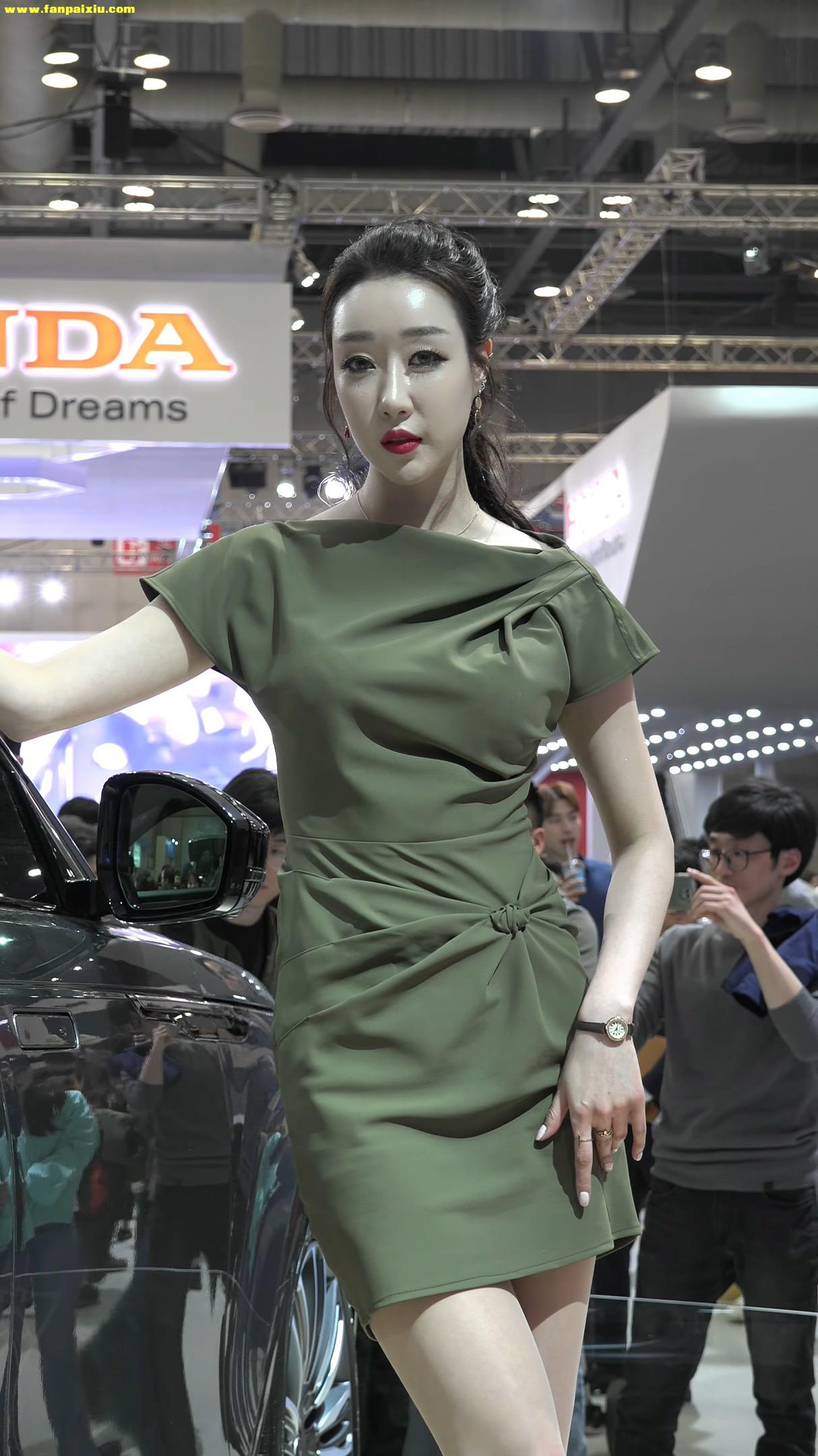 [5P][饭拍秀.496][170402][KINTEX-2017 Seoul Motor Show][4K][原创]
